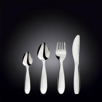 Вилка, ложка, нож для детей - набор столовых приборов для детей